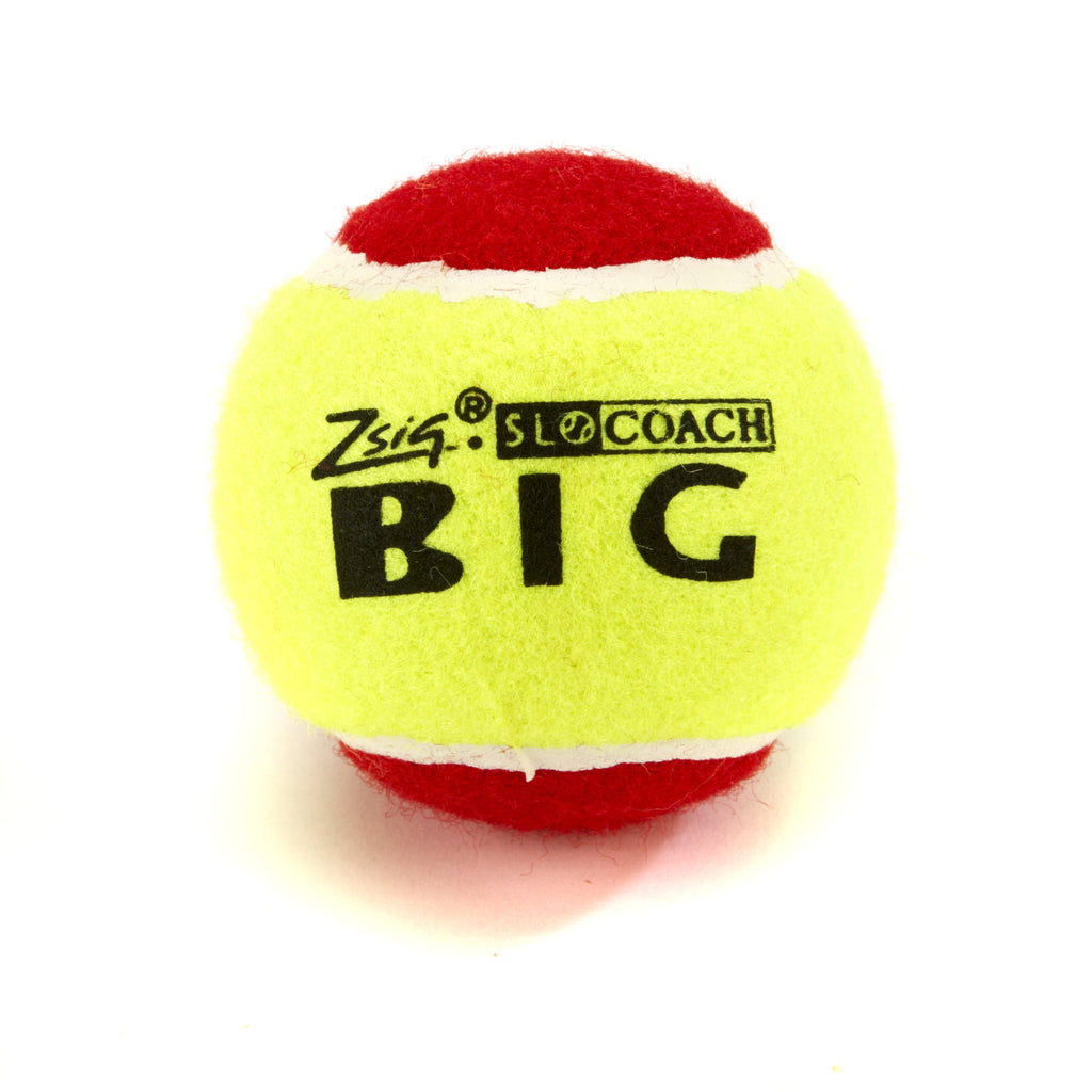 Zsig Slocoach Big Red Mini Tennis single ball
