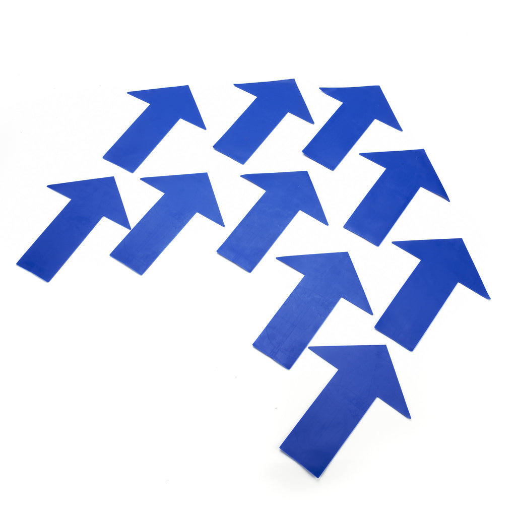 Our fun blue Arrow Markers for Early Years games & activities. Use indoor or outdoor.