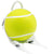 Cool tennis ball backpack, top design, fun & practical, too.  Yellow.