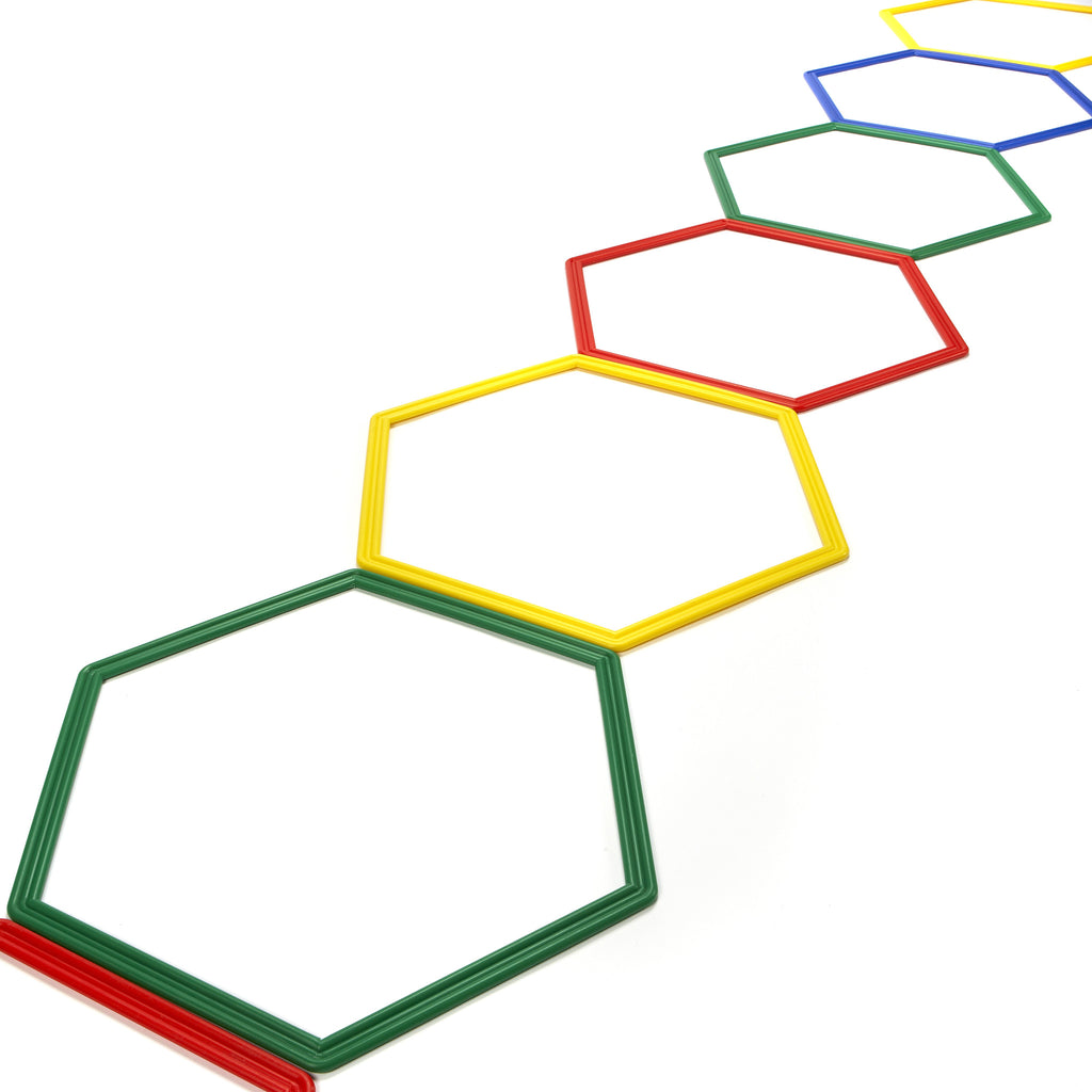 Agility Ladder made from Hexahoops