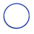 Large blue 50cm flat hoop for sports coaching & training.