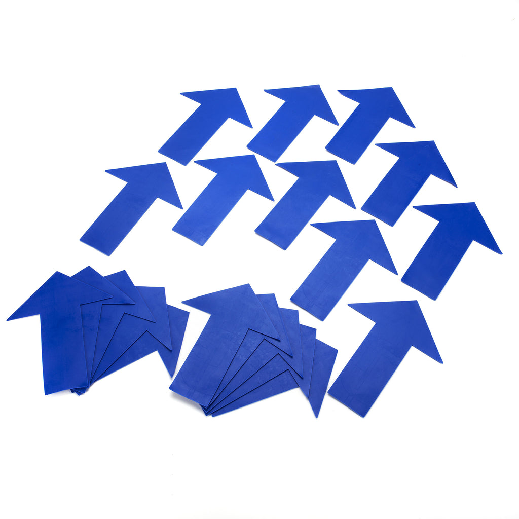 Early Years flat Arrow Marker set. Ideal for school halls, & a fun addition to games & activities.