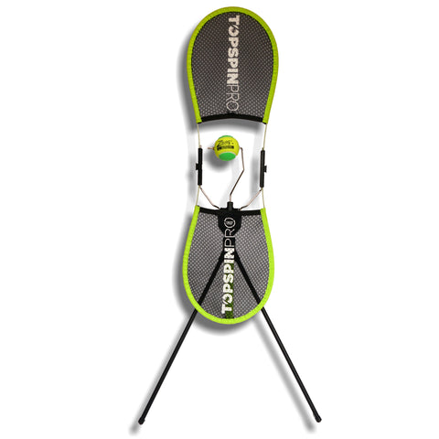 Topspin Pro tennis coaching & training device for learning topspin
