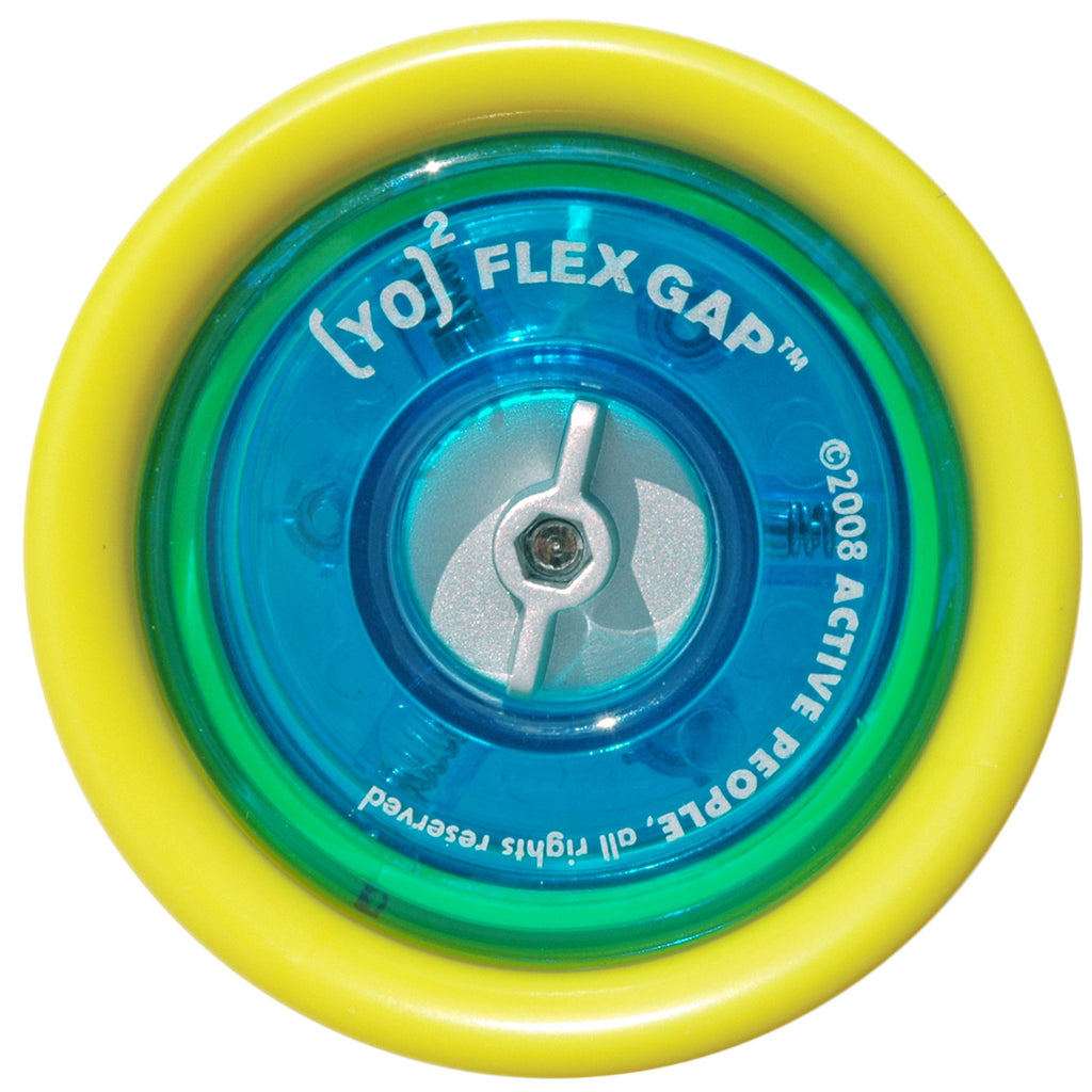 [YO]2 Flex Gap Yo-yo | Yellow & Blue