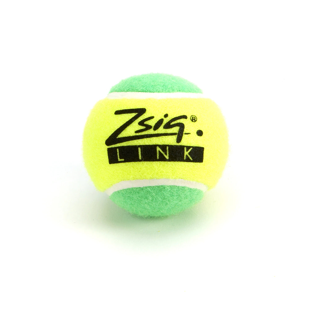 Green Mini Tennis Balls. Zsig Link Green single ball.