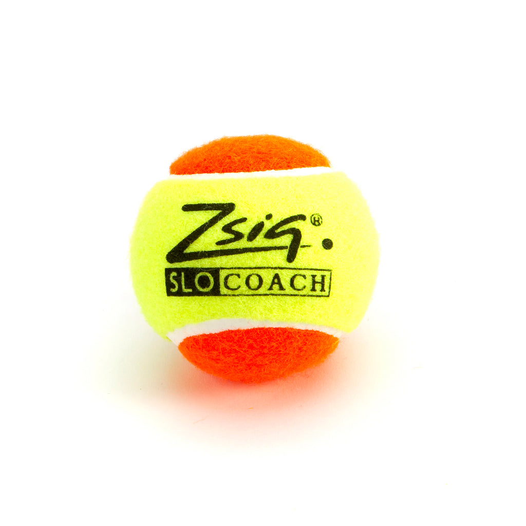 Zsig SLOcoach Orange Mini Tennis Ball