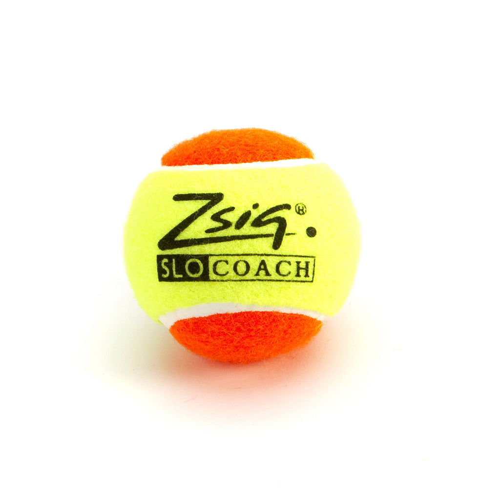 Orange Mini Tennis Ball. Zsig Slocoach Orange, single ball.