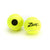 Tennis Training Balls. Two Zsig Black Dot yellow tennis balls.