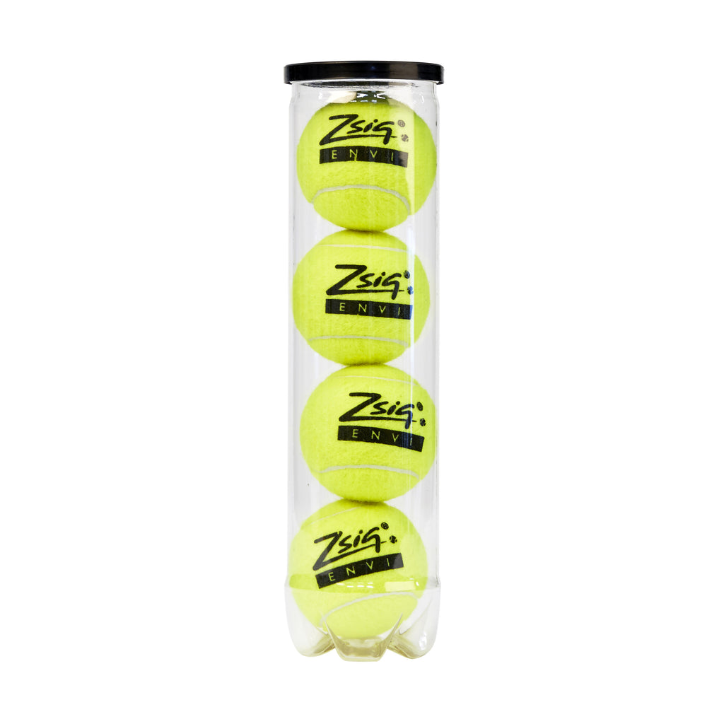 New top quality pressurised tournament ball from Zsig - tube of 4 balls