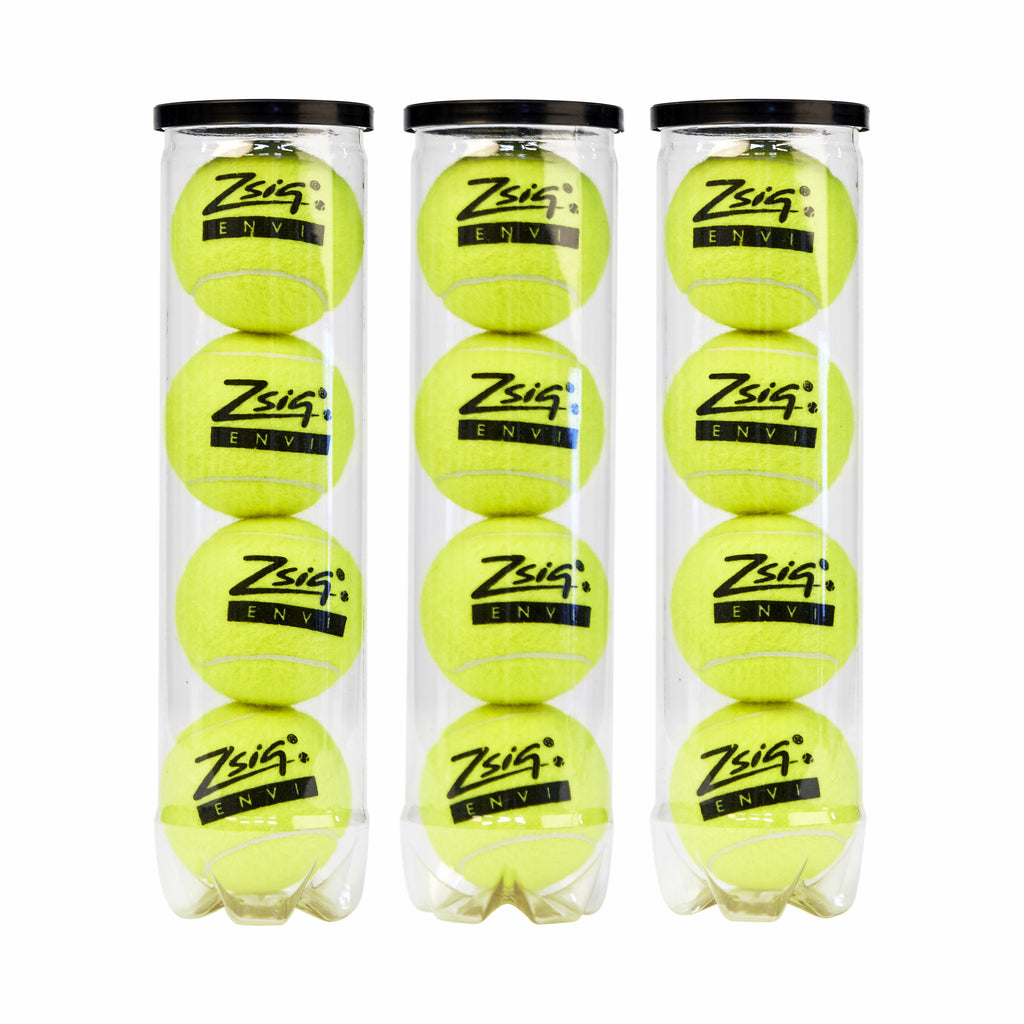 New top quality pressurised tournament ball from Zsig - in tubes of 4 balls.