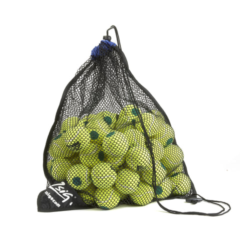 Green Dot Mini Tennis Balls. 5 Dozen Ball Bag.