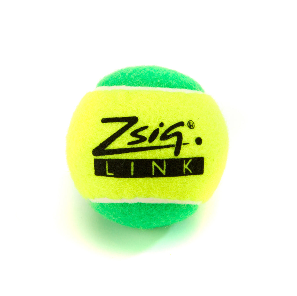 Green Stage Mini Tennis Ball 'Link Green' from Zsig