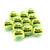 Green Mini Tennis Ball Zsig Link Green - a dozen balls.