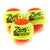 Three Zsig Slocoach Orange Mini Tennis Balls
