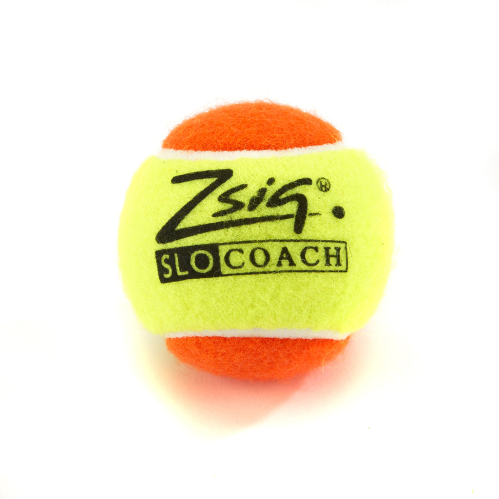 Mini Tennis Ball Zsig Slocoach Orange single ball