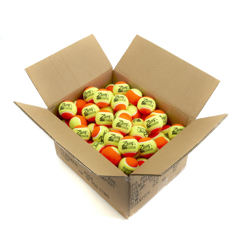 Orange Mini Tennis Balls. 10 dozen Zsig Slocoach Orange balls.
