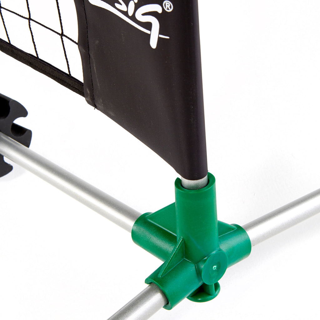 Zsig 6m Classic Mini Tennis Net patented shoulder joint gives strong support