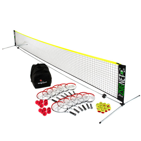 Mini Tennis | Primary School Set 1 | with 6m Net
