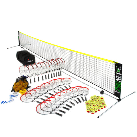 Mini Tennis | Primary School Set 2 | with 6m Net