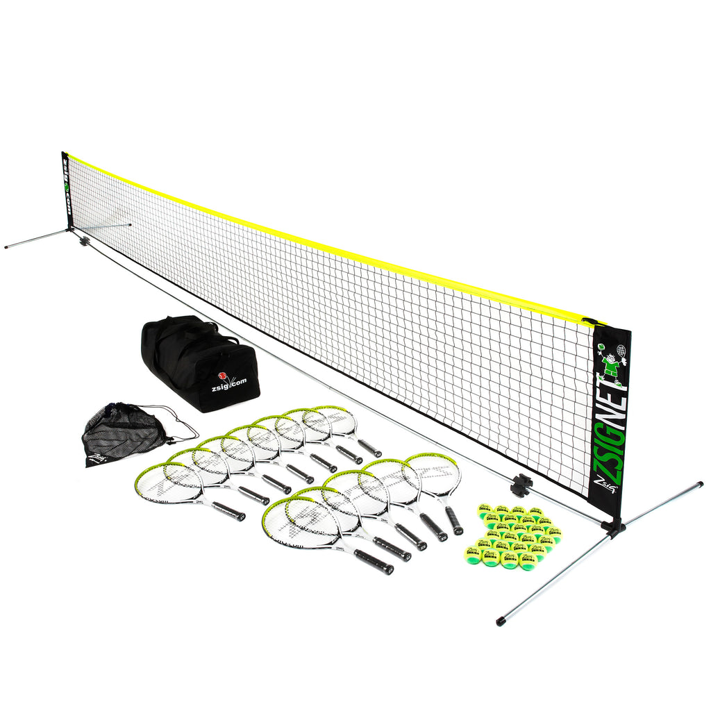Mini Tennis | Green Set | with 6m Net