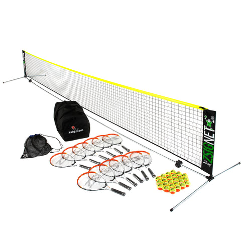 Mini Tennis | Orange Set | with 6m Net