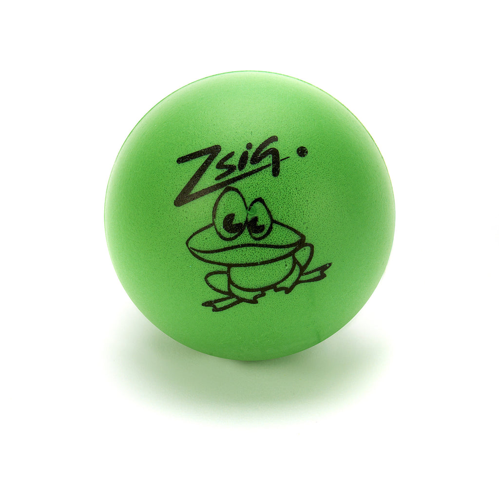Early years ball Little Frog called George - green ball