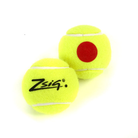 Mini Tennis Orange Stage 2 Orange Dot Ball - single ball.