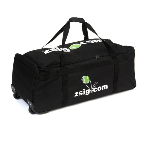 Coaching Equipment Holdall with Wheels | Black