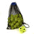 Training Tennis Balls. 5 dozen Zsig Black Dot yellow balls in a carry bag.