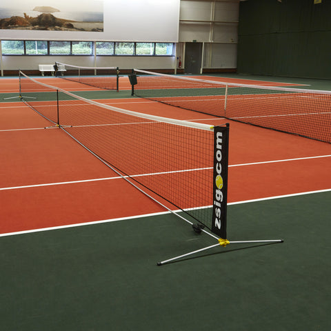 Zsignet 48 patented 12.8m full size portable tennis net