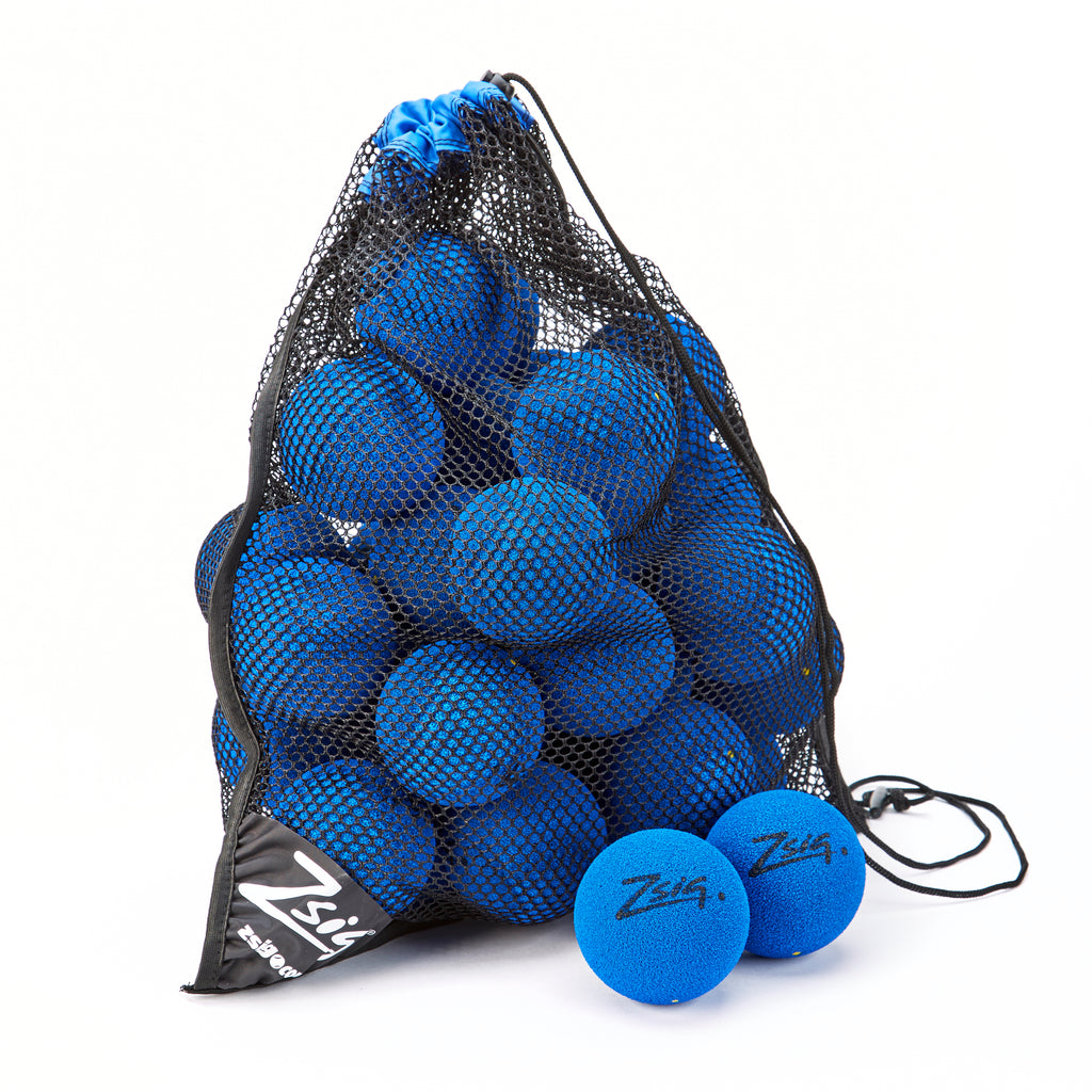 Zsig MP9 Tough Guy Bag of 48 9cm balls in Blue