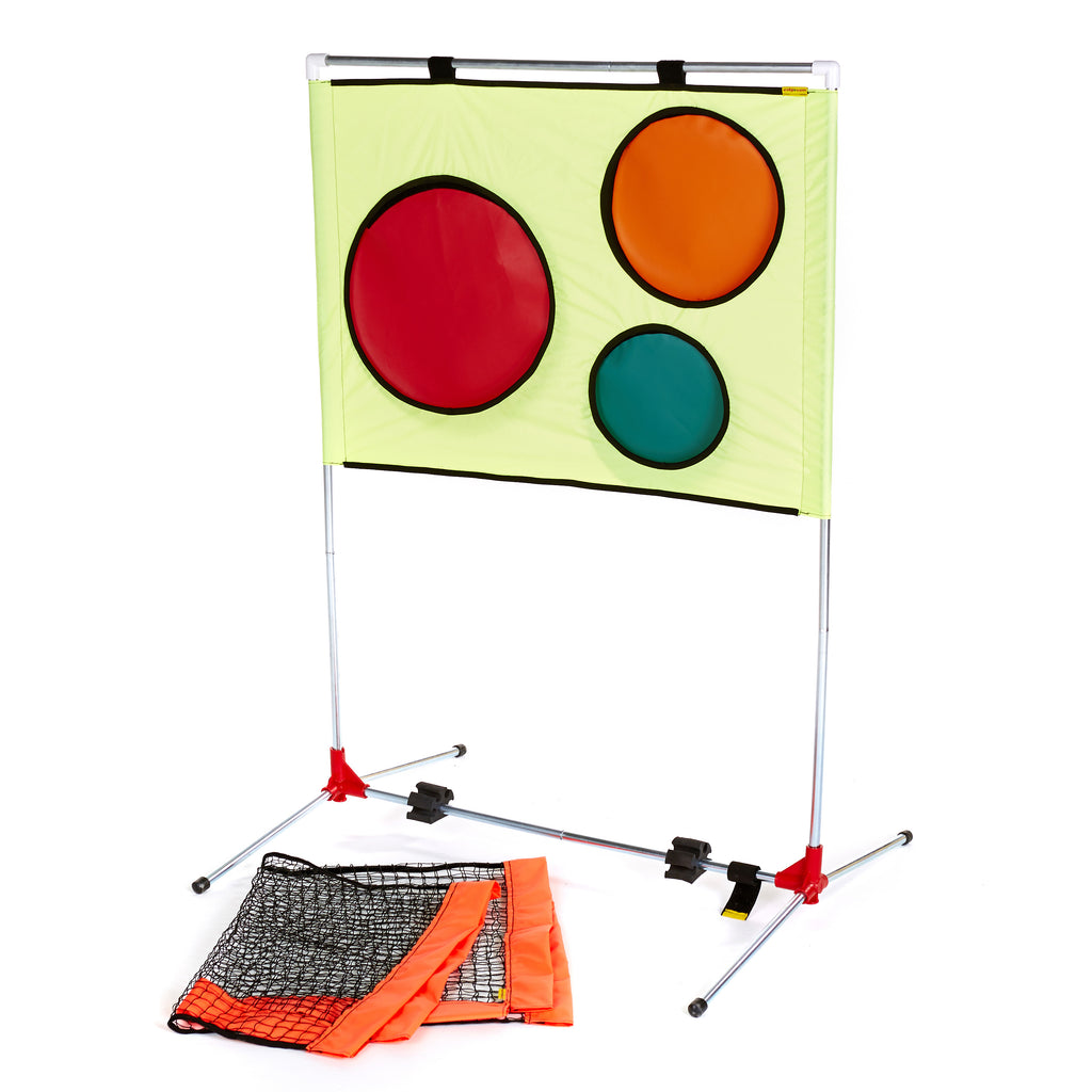 Tennis Coaching Aid Target Trainer with Rebound Net option