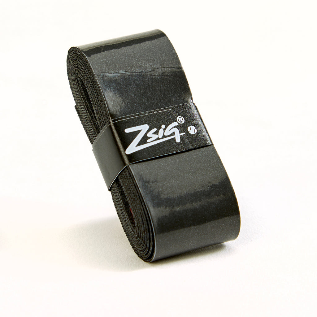 Zsig PU Overgrips | 12-Grip Wallet (Black)