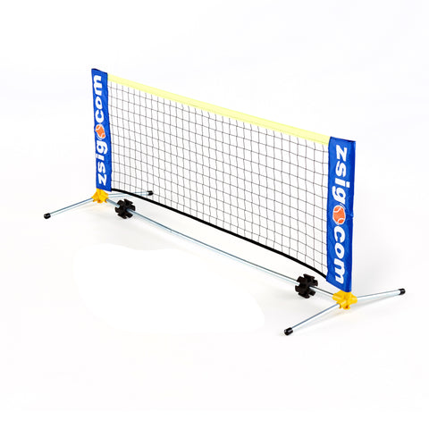 Mini Tennis Net for Early Years: Nurseries & Pre-schools. 1.8m. Yellow patented shoulder joint.