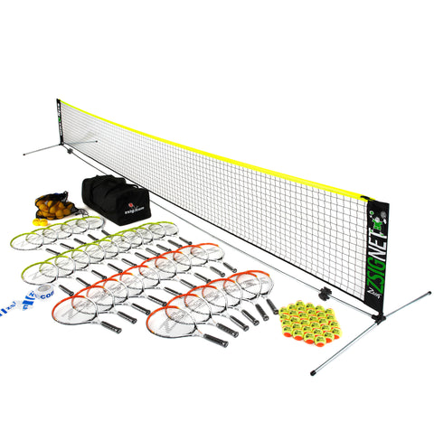 Mini Tennis | Secondary School Set | with 6m Net