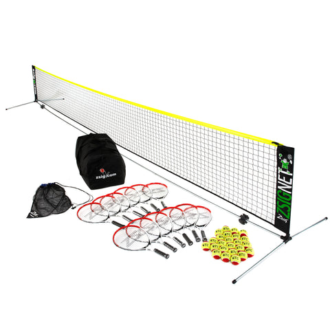 Mini Tennis | Red Set | with 6m Net