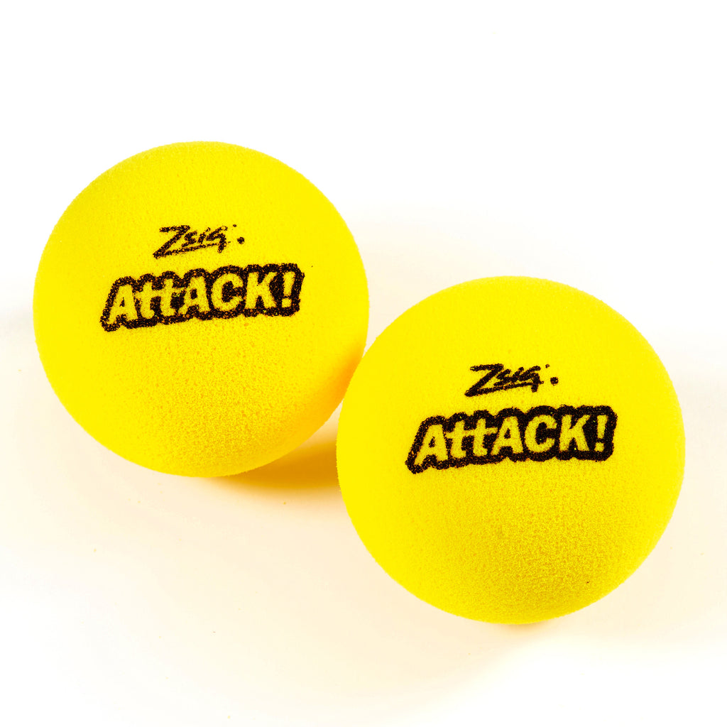 touchtennis tournament ball - single ball. The 'Attack!'