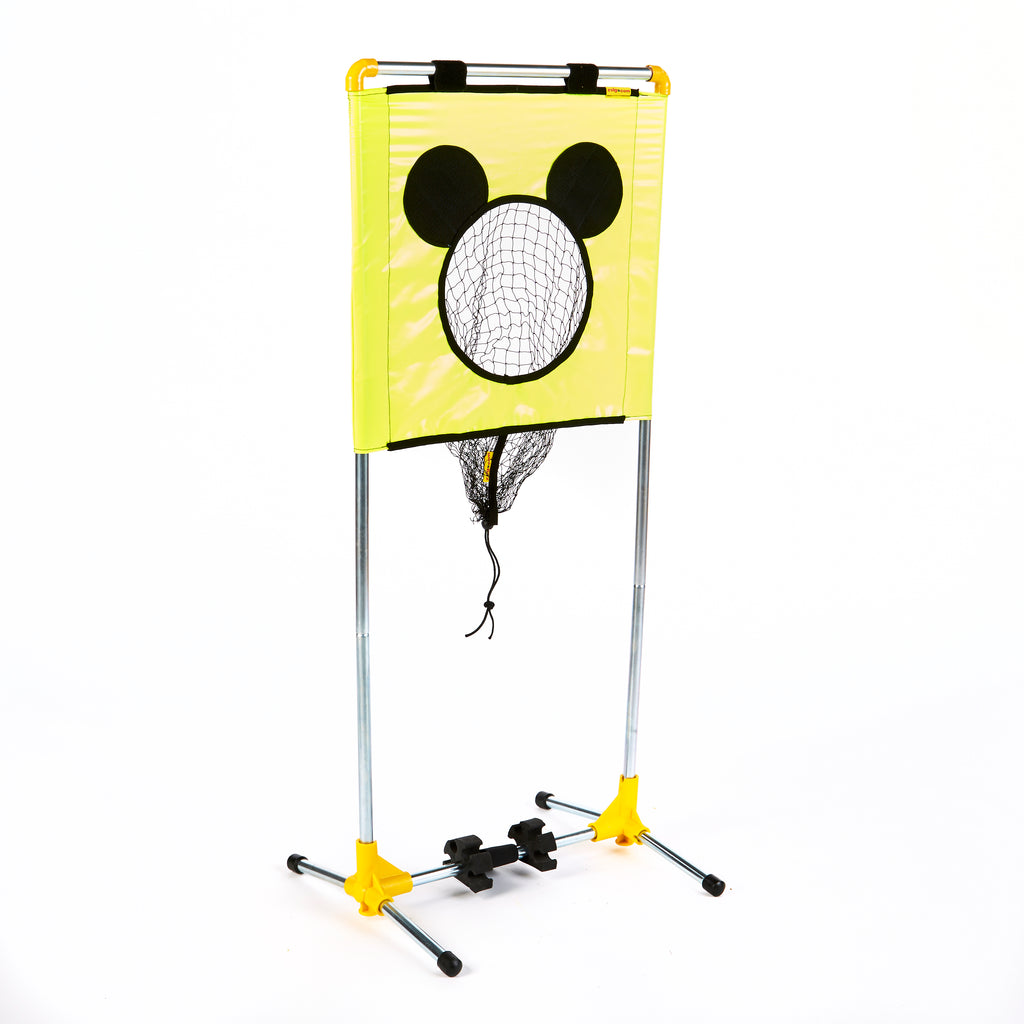 Zsig Mini Mouse portable Target Trainer with target at full height