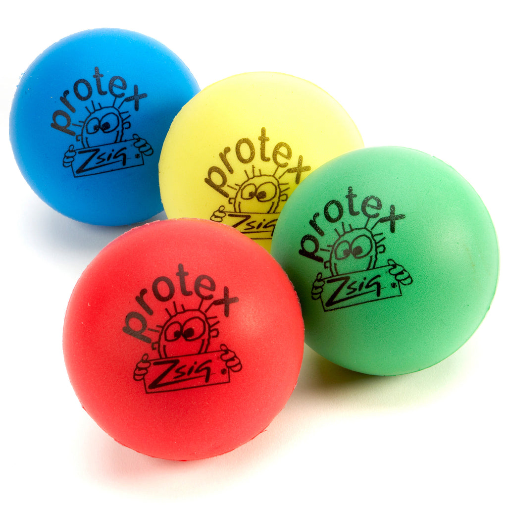 Zsif Protex 9cm moulded sponge ball in 4 colours