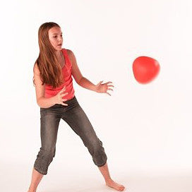 Soft Reaction Ball with unpredictable bounces.