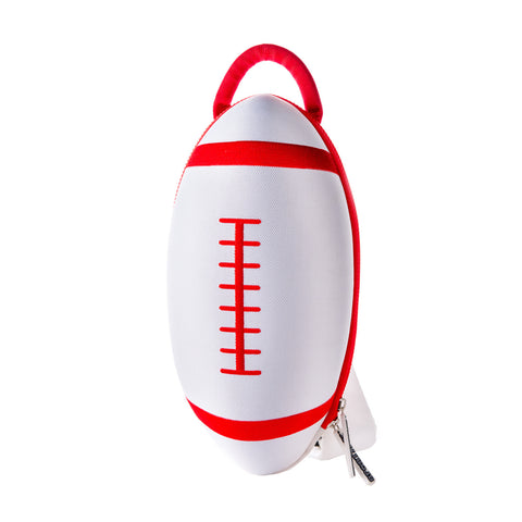 Rugby Backpack | Kids' Sports Bag | White