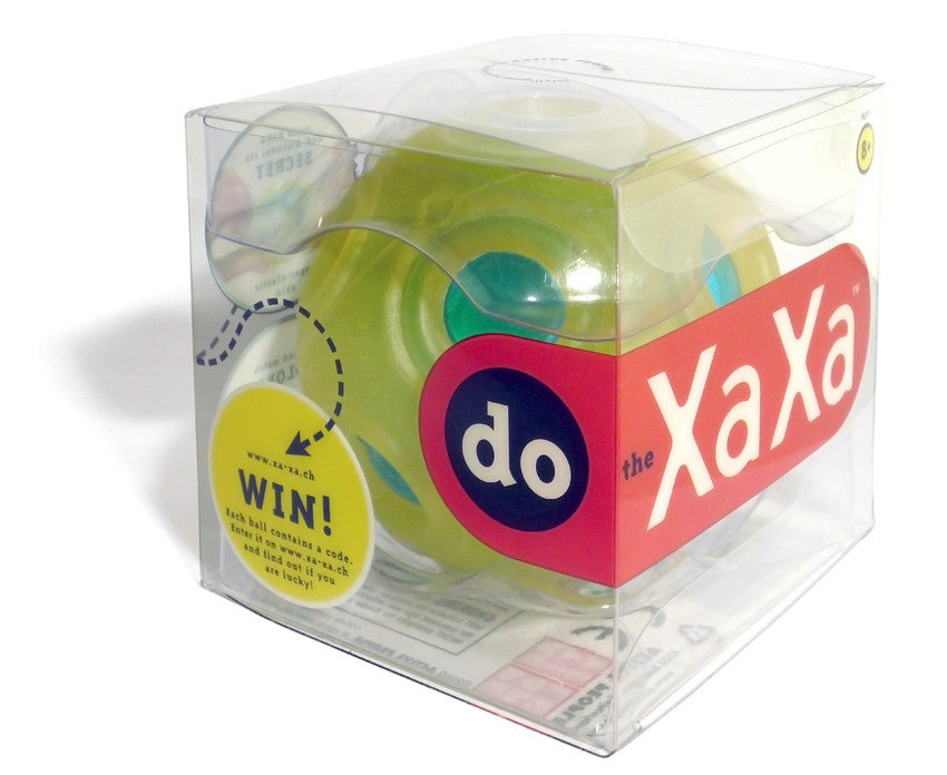 XaXa Juggling Ball | Yellow & Blue