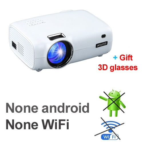 Android Wifi Smart Portable Mini LED 3D Projector