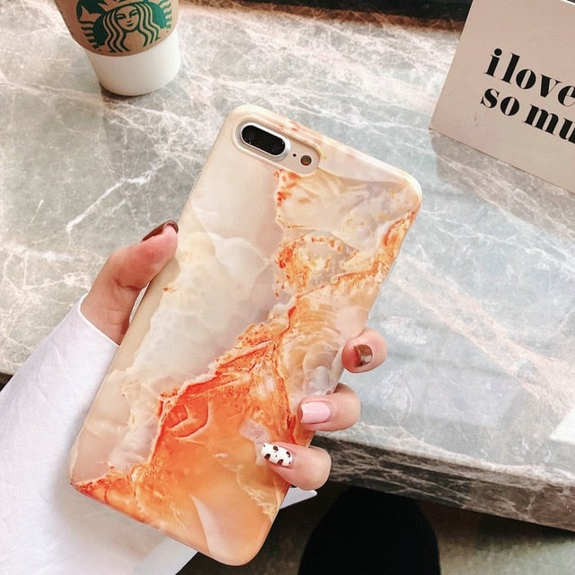 Marble Case for iPhone (Multi Options Available)