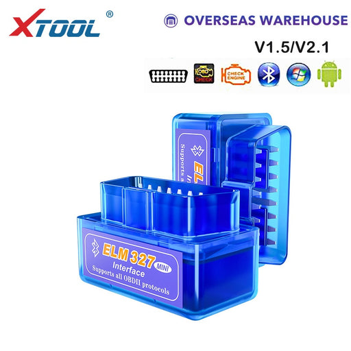 Copy of XTOOL 2019 Bluetooth V1.5/V2.1 Mini Elm327 obd2 scanner OBD car diagnostic tool code reader For Android Windows Symbian English