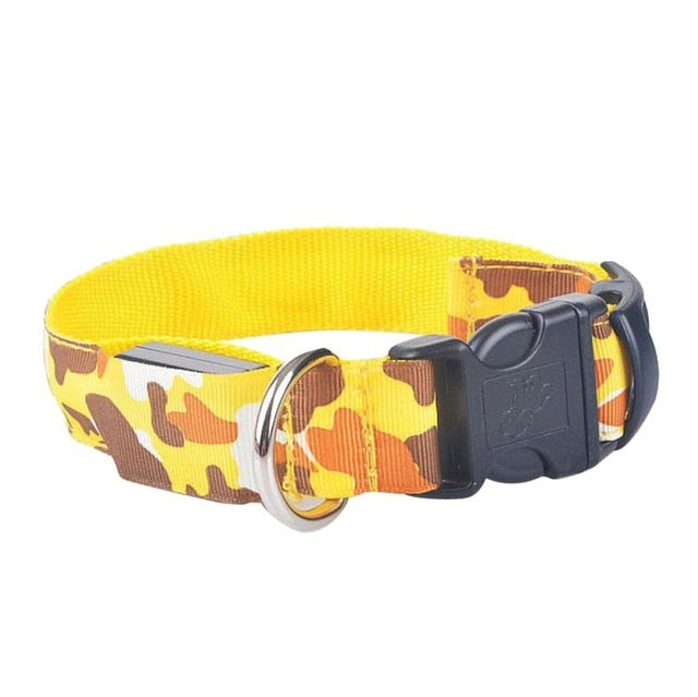 Glow In The Dark LED Dog Safety Collar