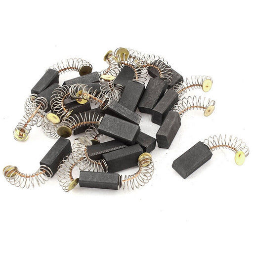 10pcs mini motor graphite carbon brush 6.5x7.5x13.5mm for various power tools such as electric hammer drill circular saw motor