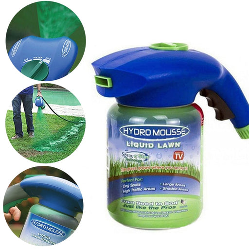 Professional Home Garden Lawn Hydro Mousse Household Hydro Seeding System Liquid Spray Device For Seed Lawn Care Garden Tools