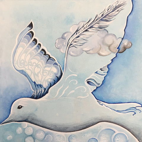 elisabeth arbuckle ~ As Light as a Feather (dove)