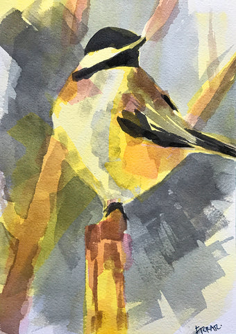 farrar brodhead ~ The Boss (chickadee) (sold)